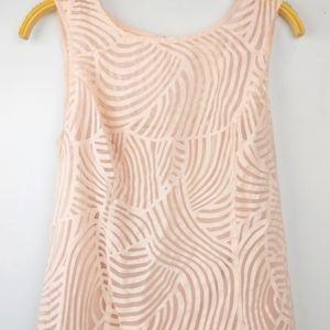 Cleo blush Pink layered Tank top